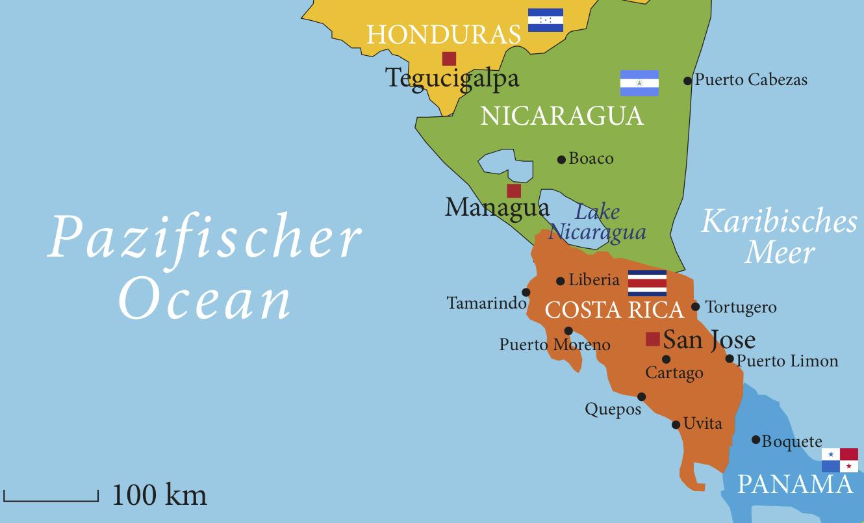 Lateinamerika Karte Länder.Wo Wir Tätig Sind Licht In Lateinamerika
